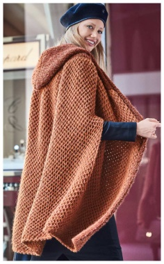 CHIC CAPE COMFORTABLE