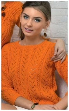 BRIGHT PULLOVER KNITTING