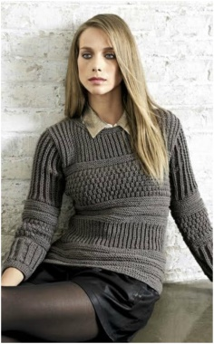MODEST AND BUSINESS PULLOVER