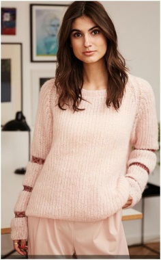 STYLE MODERN KNITTED SWEATER