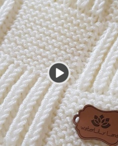 Cute BABY BLANKET PATTERN