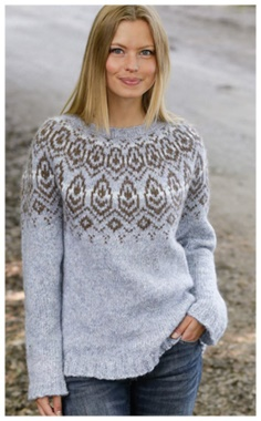 WINTER HEART SWEATER