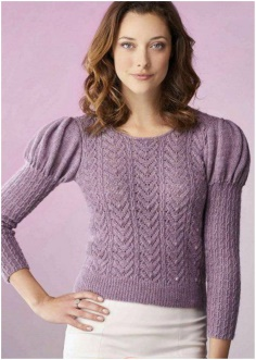 SHOULDER DETAILED STYLE FASHION SWEATER