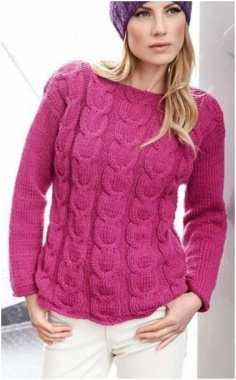 BRIGHT PULLOVER FOR STYLISH WOMEN