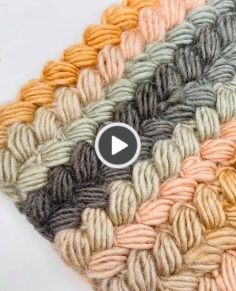 CROCHET BRAIDED STITCH