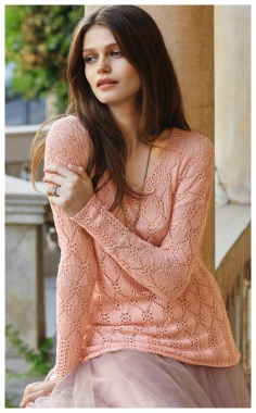OPENWORK SWEATER FOR A STYLISH LADY