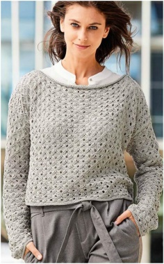 VERY STYLE PATTERN SWEATER SUITABLE FOR THE WORKPLACE