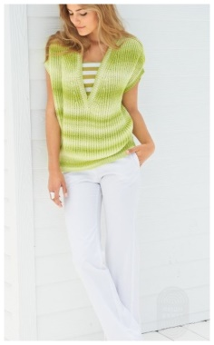 PULLOVER KNITTED WITH ENGLISH RUBBER