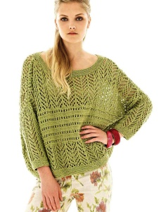 SUMMER WIDE ARM COMFORT SWEATER