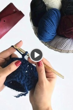 Again a great crochet sample video