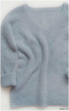 BRUSHED PULLOVER KNITTING