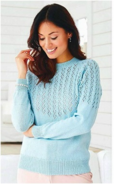 KNITTING RAGLAN SWEATER