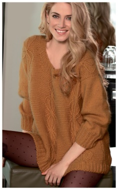 A LONG PULLOVER IS COMFORT  STYLE AND FEMININITY
