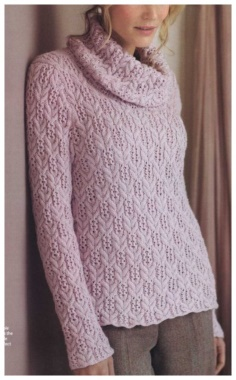 PULLOVER WITH WINTERBLOOM BRAIDS KNITTING
