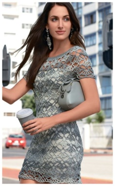 SHORT SLEEVE LACE MINI DRESS  ELEGANT  SEXY ROMANTIC