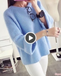 Knitted Sweater Size
