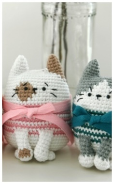 Child Knitted Cat