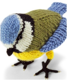KNITTED BIRD
