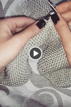 Beautiful and practical knitting tutorial video
