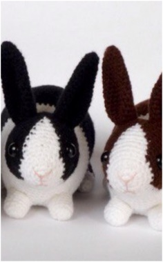KNITTED SWEET RABBIT