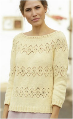 NEW FROM DROPS KNITTING  SWEATER