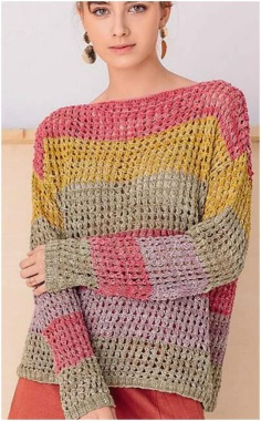 COLOR EASY MODEL SWEATER