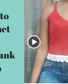 How to Crochet a Lace Tank Top