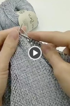 Great stunning knitting video