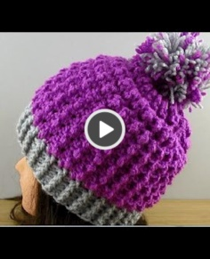 Easy crochet hat adults