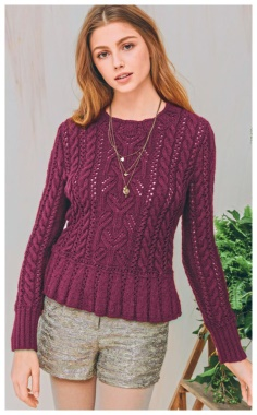 ELEGANT PULLOVER WITH PASKA