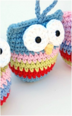 LITTLE CROCHET OWL TOY
