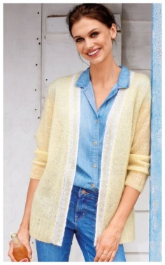 CARDIGAN IN PASTEL COLORS  ALWAYS IN FASHION