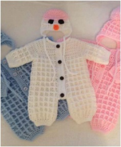 BABY SNOW SUIT & HAT