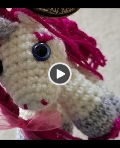 Crochet Quick Easy Beginner Small Magical Unicorn Video Tutorial