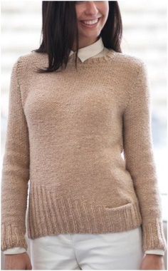 ASYMMETRIC DETAIL SWEATER