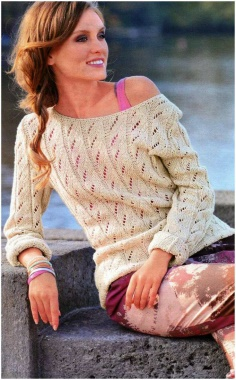 SAND COLORED PULLOVER  SWEATER