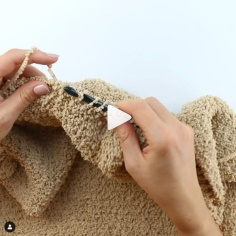 How to Knit Tunisian Simple Stitch Video Tutorial