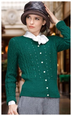 EMERALD BEAD JACKET
