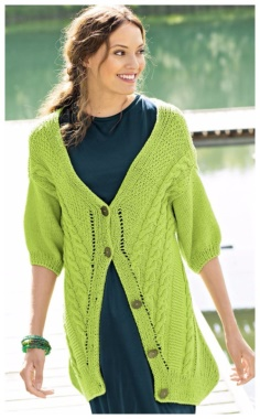 ORIGINAL CARDIGAN WITH SPOKES