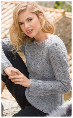 CASHMERE PULLOVER PATTERN