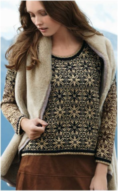 BEAUTIFUL JACQUARD SWEATER