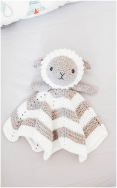 Little Lamb Lovey Pattern