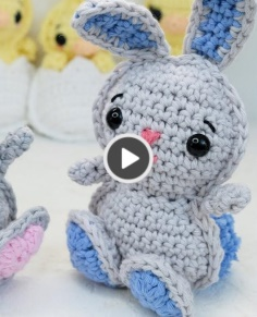Crochet rabbit - Easy rabbit for beginners!