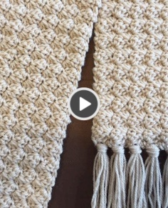 Crochet Scarf Training Easy and Elegant