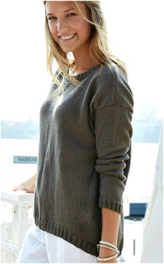 SPORTY STYLE SWEATER