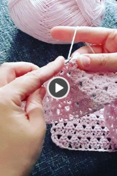 Pink tiny baby blanket video