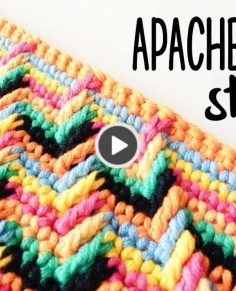 APACHE TEARS stitch