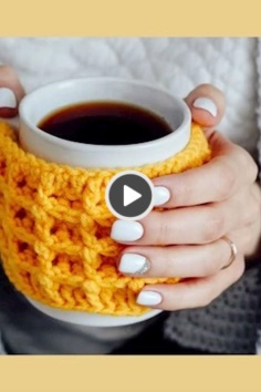 Cup holder knitted video