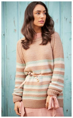 ELEGANT STRIPED SWEATER