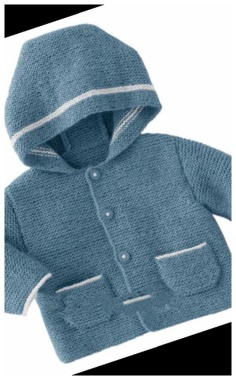 KNITTED BABY JACKET
